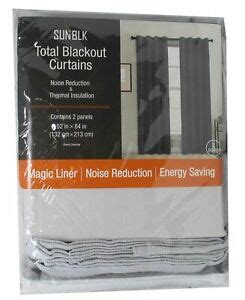 Oeko-Tex SunBlk Total Blackout Curtains Everly Charcoal