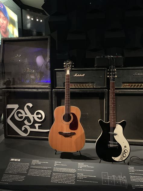 PHOTOS: See Jimmy Page's guitars on display in a new