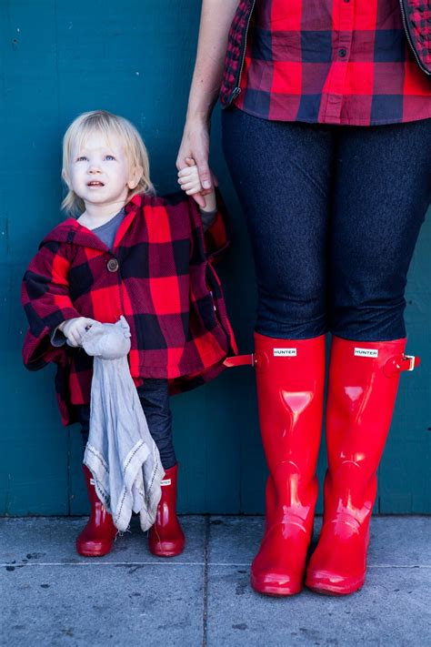 Mama Daughter Style Series: how to wear hunter boots