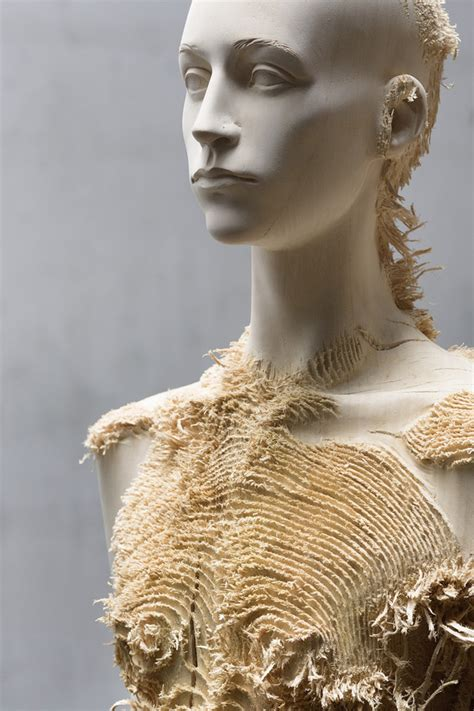 New Distressed Wood Figures by Aron Demetz | Colossal