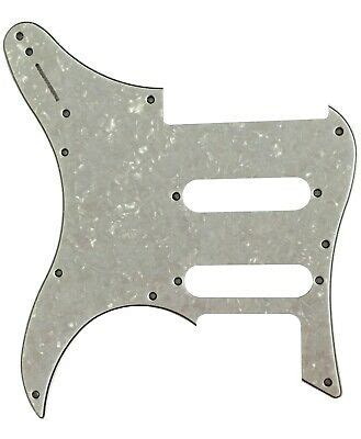 For 4-Ply Yamaha Pacifica 112V Guitar Pickguard,White