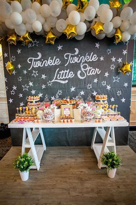 Twinkle Twinkle Little Star Baby Shower Ideas For Any