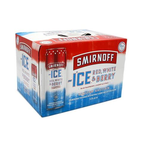 Smirnoff Ice Red, White & Berry, 12 Pack, 12 fl oz Cans