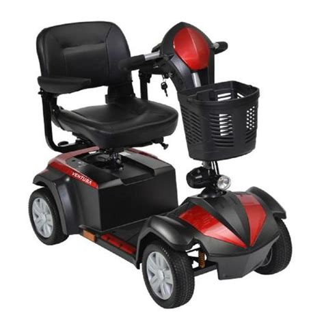 Drive Medical Ventura Power Mobility Scooter, 4 Wheel, 18