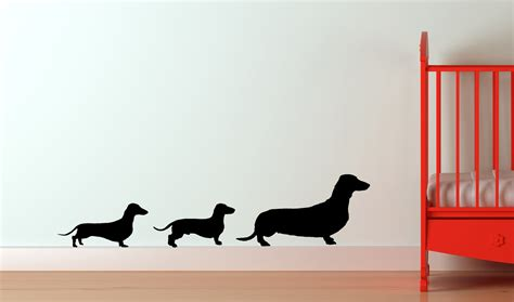 Dachshund Family Decal Doxie Decal Dog Decal Puppy Decal