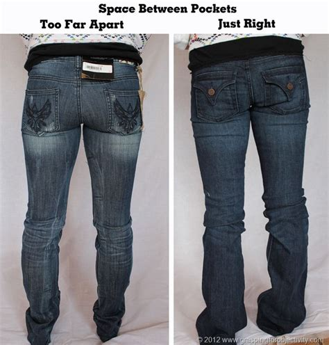 On the Proper Fitting of Jeans