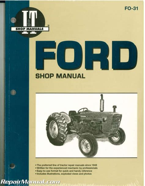 Ford New Holland 2000, 3000, 4000 3-Cylinder Pre 1975