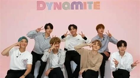 BTS Reflects on Why New Single 'Dynamite' Was a 'Huge