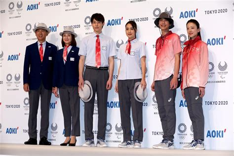 Tokyo 2020: Uniforms for technical officials unveiled