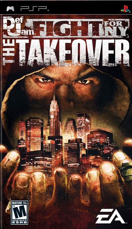 Def Jam Fight for NY The Takeover PSP Game