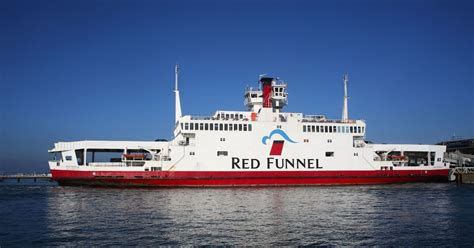 Southampton Red Funnel ferry collides with motorboat in