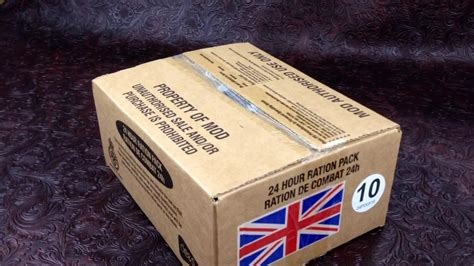 MRE Review British Military 24h Ration Ministry Of Defense