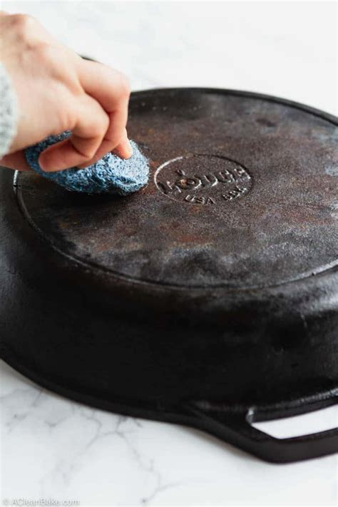 How To Season a Cast Iron Skillet: An Easy Guide | A Clean