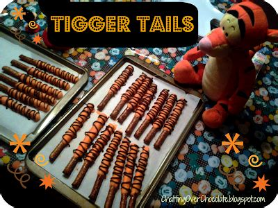 Chatting Over Chocolate: Tigger Tails for National Winnie