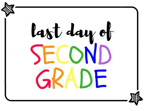Last Day of School Signs with Free Printable   Simply Bessy