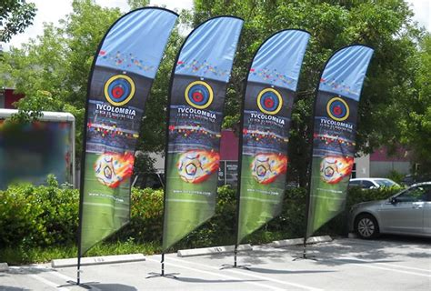Custom Promotional Flags from Inflatable Design Group