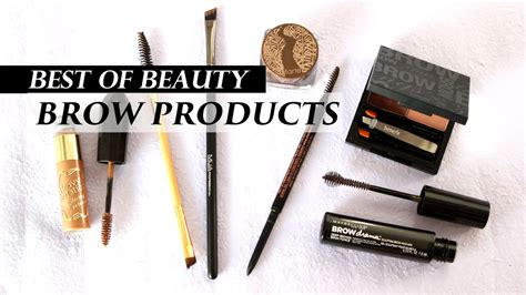 Top 5 Best Eyebrow Products | LookMazing - YouTube