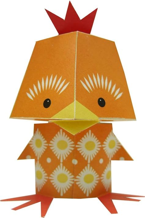 Adorable Printable Papercraft Animals, Fun And Easy To