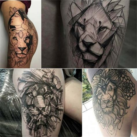 Lion Tattoo Meaning – Lion Tattoo Ideas for Men and Women